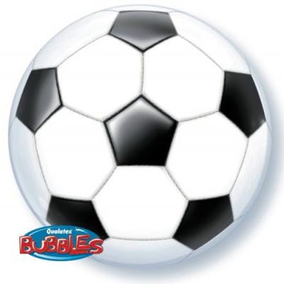 BUBBLE Ballon Fußball Ø 56cm