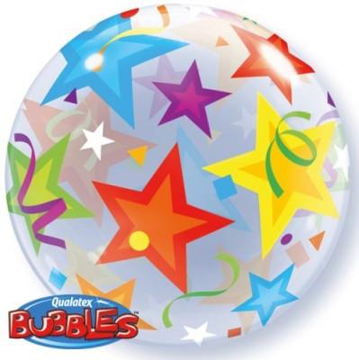 BUBBLE Ballon Sterne Ø 56cm