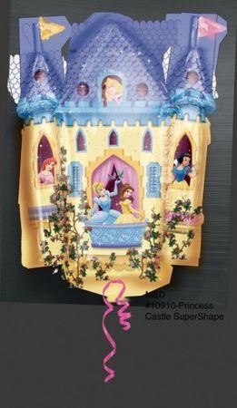 Folienballon Schloss Prinzessin