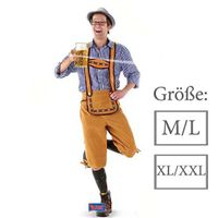 Lederhose Oktoberfest orange