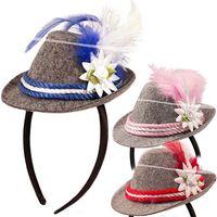 Mini bayrischer Hut mit Haarreif Bild 5