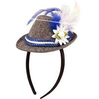 Mini bayrischer Hut mit Haarreif Bild 6
