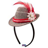 Mini bayrischer Hut mit Haarreif