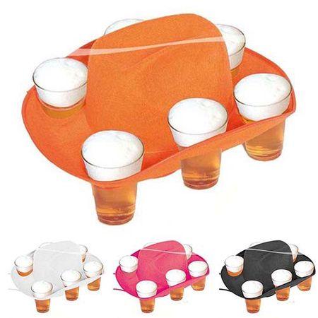 Bier Hut für 6 Becher