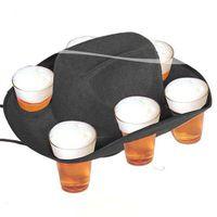 Bier Hut für 6 Becher Bild 3