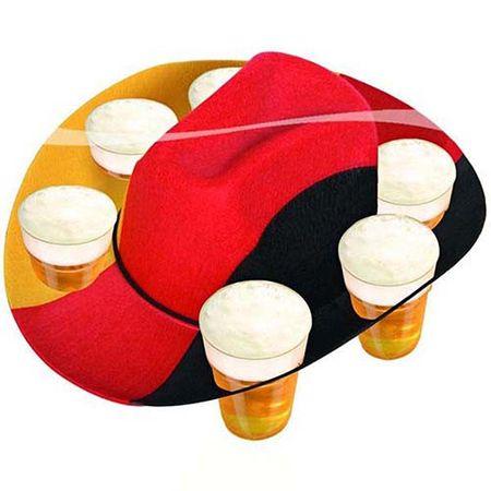 Bier Hut Deutschland für 6 Becher