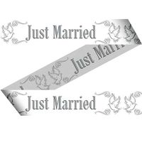 Absperrband Just Married 15m